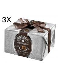 (3 PANETTONI X 950g) Flamigni - Dark Chocolate