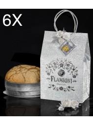 (6 PANETTONI X 1000g) Flamigni - Bag Moscato