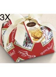Caffarel - Panettone Handmade Traditional 3 x 1000g