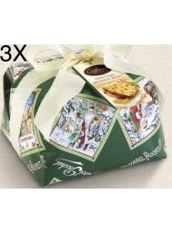 (3 PANETTONI X 1000g) Caffarel - Handmade Milano