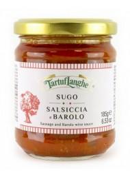 (6 PACKS X 185g) TartufLanghe - Sausage and Barolo wine sauce