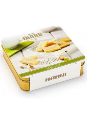 (2 PACKS) Babbi - Waferini Pistachio - 190g