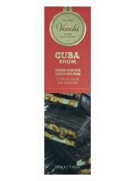 (3 PACKS X 200g) Venchi - Brittle Nougat And Rhum Cream Covered With Extra Dark Chocolate