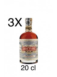 (3 BOTTLES) Rum Don Papa - Mignon - 20cl