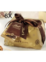 Lindt - Panettone Raisins, Candied and Chocolate Drops 6 X 1000g
