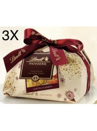 (3 PANETTONI X 1000g) Lindt - Panettone Milanese Basso