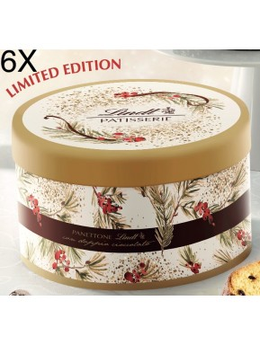 (3 PANETTONI X 1000g) Lindt - Double Chocolate - Latta Limited Edition