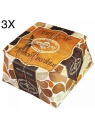 (3 PANETTONI X 950g) Perbellini - Orange and Chocolate - NEW