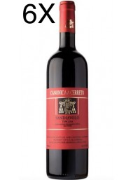 (3 BOTTLES) Canonica a Cerreto - Sandiavolo 2014 - Toscana IGT - 75cl