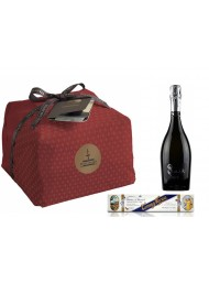 "Special Bag - Panettone Craft ""Fiaconaro"", Prosecco and Nougat"