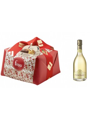 "Special Bag - Panettone Craft ""Filippi"" and Franciacorta Ca' del Bosco"