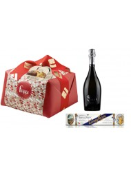"Special Bag - Panettone Craft ""Filippi"", Prosecco and Nougat"
