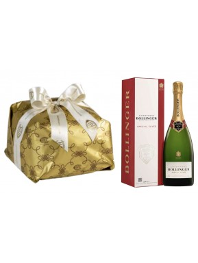 """Special Bag - Panettone Craft """"Cova"""" and Champagne """"Bollinger Special Cuvée"""""""
