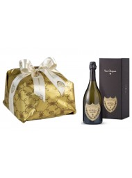 "Special Bag - Panettone Craft ""Cova"" and Champagne ""Dom Perignon"""