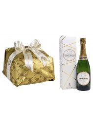 "Special bag - Panettone Craft ""Cova"" and Champagne ""Laurant Perrier"""