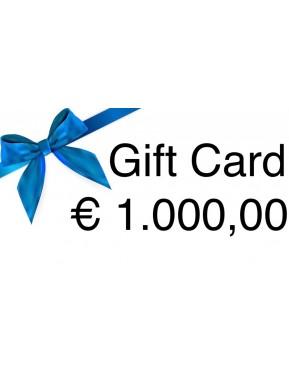 Gift Card € 500,00