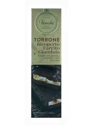 (3 PACKS X 200g) Venchi - Milk Gianduja Chocolate and Brittle Nougat Covered With Extra Dark Chocolate