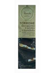 (6 PACKS X 200g) Venchi - Milk Gianduja Chocolate and Brittle Nougat Covered With Extra Dark Chocolate