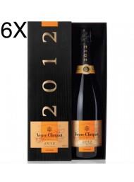 (3 BOTTLES) Veuve Clicquot - Vintage Brut 2012 - Champagne AOC - Coffret - 75cl