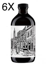 (3 BOTTLES) Vecchio Magazzino Doganale - Gin GIL - The Autentic Rural Gin - Gin Peated Italian - 50cl