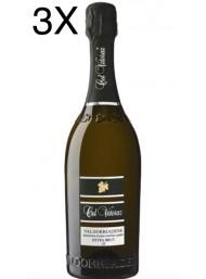 (3 BOTTIGLIE) Col Vetoraz - Extra Brut Ø 2018 - Prosecco di Valdobbiadene  DOCG - 75cl