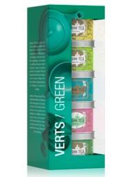 Kusmi Tea - GREEN TEAS ASSORTMENT - 5 X 25g