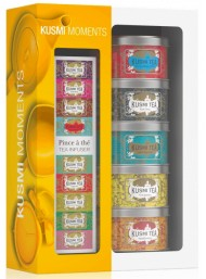 KUSMI TEA - MOMENTS ASSORTMENT - WITH INFUSER 5 X 25G