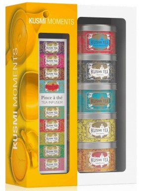 KUSMI TEA - ORIGINALS ASSORTMENT - WITH INFUSER 5 X 25G
