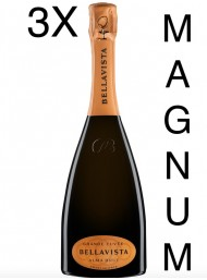 (3 BOTTIGLIE) Bellavista - Alma Gran Cuvée Brut Magnum - NEW AIR ON WINE - Franciacorta - 150cl