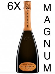(6 BOTTIGLIE) Bellavista - Alma Gran Cuvée Brut Magnum - NEW AIR ON WINE - Franciacorta - 150cl