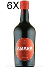 (3 BOTTLES) Amara - Liquore Amaro di Arancia Rossa di Sicilia - 50cl