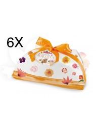 (6 EASTER CAKES X 1000G) ALBERTENGO - COLOMBA APRICOT