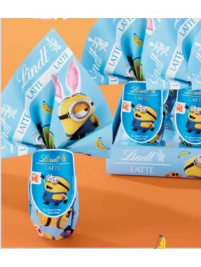 Lindt - Egg Milk - Minions - 25g