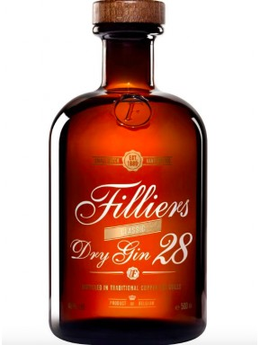 Filliers - Dry Gin 28- 50cl