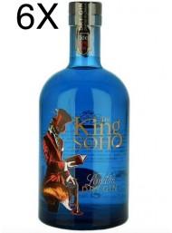 (3 BOTTIGLIE) Gin King Of Soho - London Dry Gin - 70cl