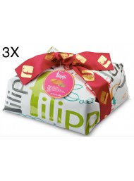 (3 EASTER CAKES X 1000g) FILIPPI - NO CANDIED FRUIT