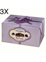 (3 EASTER CAKES X 950g) FLAMIGNI - CHOCOLATE CREAM