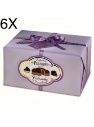 (6 EASTER CAKES X 950g) FLAMIGNI - CHOCOLATE CREAM