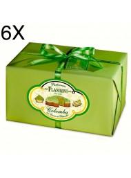 (6 EASTER CAKES X 950g) FLAMIGNI - PISTACHIO CREAM