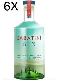 (6 BOTTIGLIE) Sabatini - London Dry Gin - Tuscan Botanicals - 70cl
