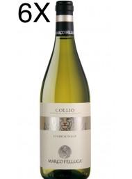 (3 BOTTLES) Marco Felluga - Chardonnay 2019 - Collio DOC - 75cl