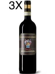 (3 BOTTIGLIE) Ciacci Piccolomini d'Aragona - Brunello di Montalcino 2015 - Vigna di Pianrosso - DOCG - 75cl