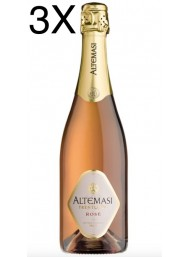 (3 BOTTIGLIE) Cavit Altemasi - Rosé Brut - Metodo Classico - Trento DOC - 75cl