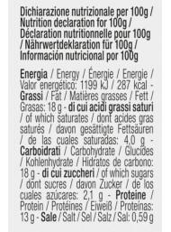TartufLanghe - Baccalà mantecato con olive taggiasche - 190g