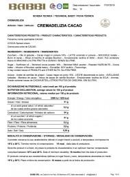 Babbi - Cocoa - 150g