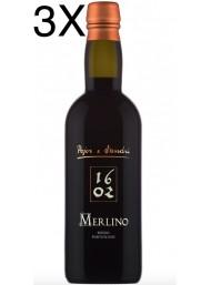 (3 BOTTLES) Pojer & Sandri - Merlino 1704 - Rosso Fortificato delle Dolomiti - Vino Liquoroso - 50cl