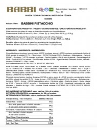 Babbino - Pistachio - 100g