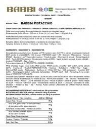 Babbino - Pistachio - 500g