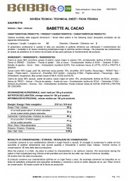 Babette Cocoa - 300g