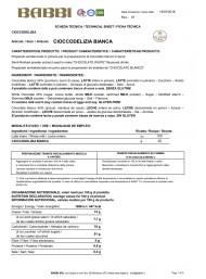 Babbi - White Hot Chocolate - Cioccodelizia - 150g